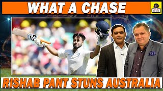 Rishab Pant Stuns Australia | What a Chase | Caught Behind