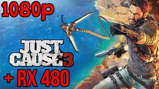 Just Cause 3 | AMD RX 480 | FRAME RATE | MAXED OUT (1080p)(, 2016-07-01T18:32:19.000Z)