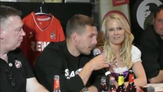 Lukas Podolski beim FC-Stammtisch Talk - SPEZIAL - Teil 2