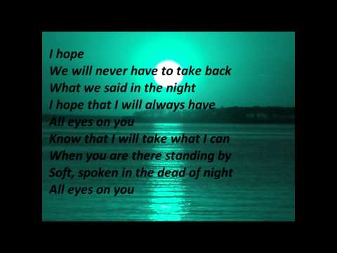 St Lucia - All Eyes On You (Lyrics On Screen)