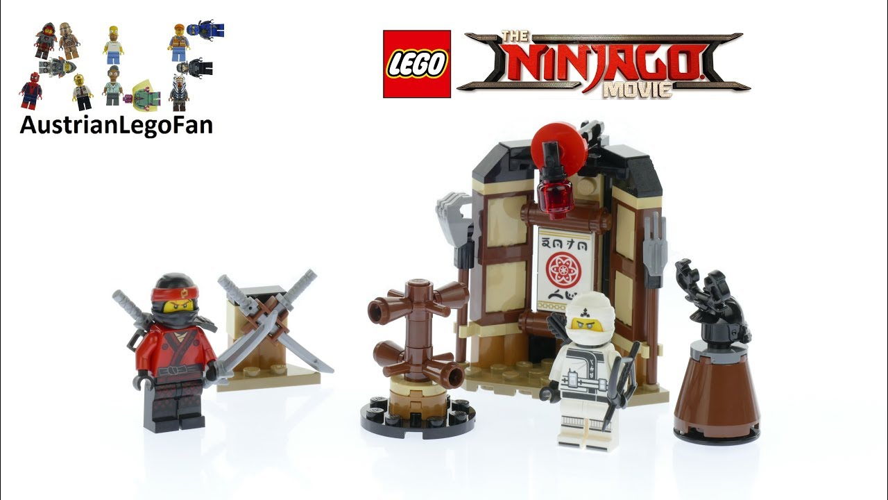 LEGO THE NINJAGO MOVIE 70606 SPINJITZU TRAINING 109 PCS