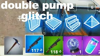 I tried using DOUBLE PUMP glitch in Fortnite Season 6 and this happened..