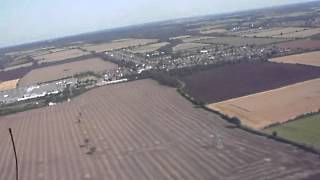 Landing Flexwing Microlight at Barnards Farm West Horndon Essex
