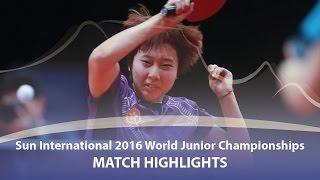 WJTTC 2016 Highlights Hina Hayata vs Soo Wai Yam