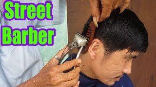 Vietnamese Street Barber - Haircut & Shave in Vietnam