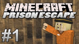 Minecraft Prison Escape - EP1 -  WHY ARE WE HERE? (Prison Server)