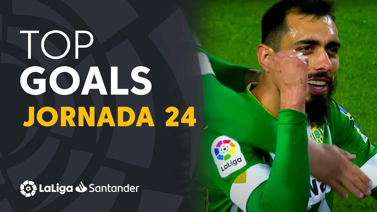 Todos los goles de la Jornada 24 de LaLiga Santander 2020/2021