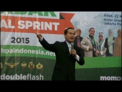 Sambutan Rofik Hananto Training Akbar Final Sprint 2015