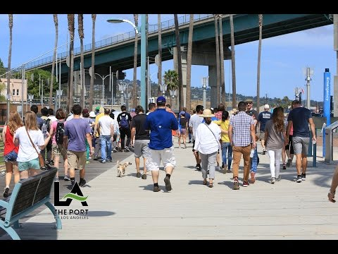 Walking Tour of LA Waterfront with Los Angeles Walks