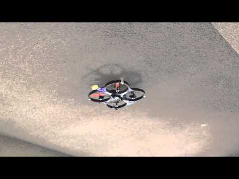 Quadcopter Outdoor Perching With Opposed Micro-spines