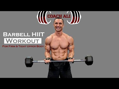 Barbell Workout For HARD & SHREDDED Upper Body