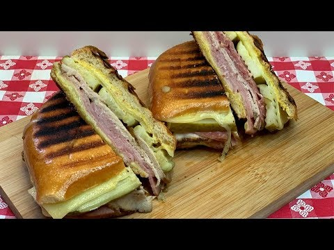GRILLED CUBAN SANDWICHES 2 WAYS!!