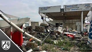 Imbisswagen in Dinslaken explodiert