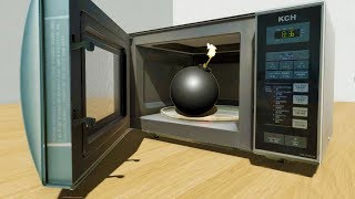 Microwaving a BOMB - Disassembly 3D New Update Gameplay