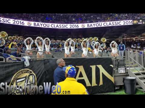 "Southern ""IDGAF,"" ""Neck,"" and ""Before I Let Go"" Dancing Dolls - 2016 Bayou Classic Game"