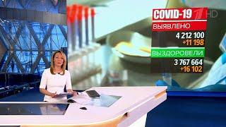 За сутки в России выявлено чуть более 11 тысяч подтвержденных диагнозов коронавируса.