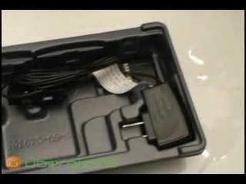 Samsung Blackjack Unpacking
