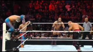 Sin Cara botch live on Raw 21th september 2015