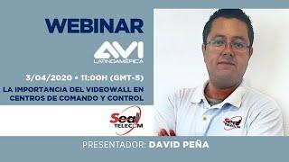Webinar:  La importancia del videowall en centros de comando y control