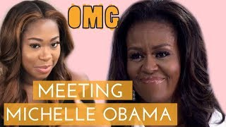Vlog: Meeting Michelle Obama in London | Michelle Obama interview