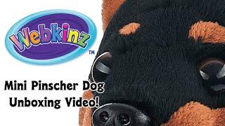 Webkinz Mini Pinscher Dog Plush Unboxing!