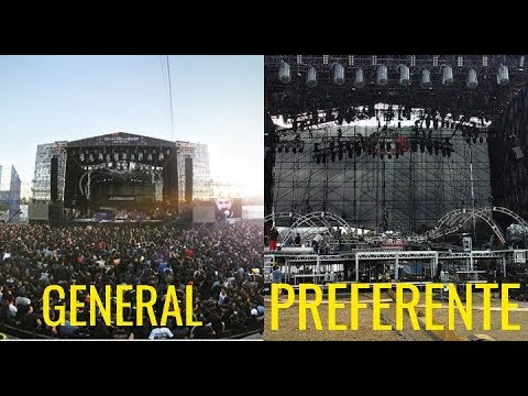 Hell & Heaven 2018: Vista General, Preferente y Plus