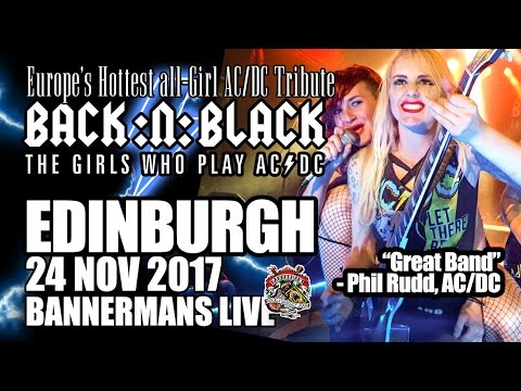 BACK:N:BLACK at Bannerman's Edinburgh (UK)!