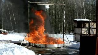 Огневые испытания продукции ГК
