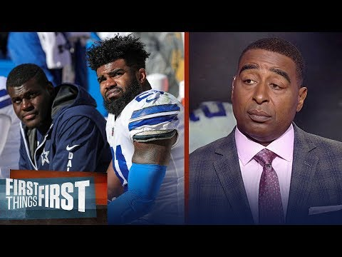 Cris Carter reacts to the latest ruling in Ezekiel Elliott