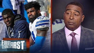 Cris Carter reacts to the latest ruling in Ezekiel Elliott's suspension   FIRST THINGS FIRST
