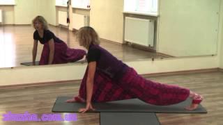 Тренировка по йоге. Урок № 1