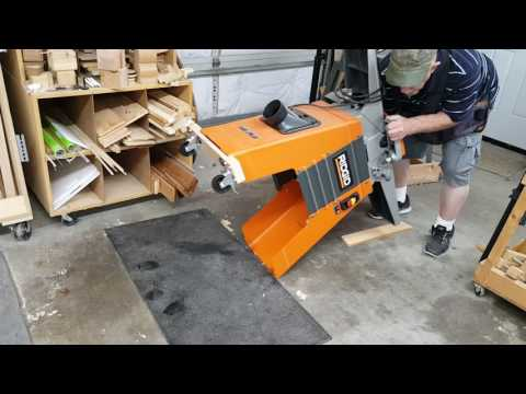 Making my Jointer Mobile