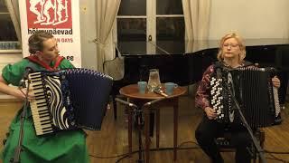 """""""Ellin polkka"""" (trad.-)Maria Kalaniemi FIN, Tuulikki Bartosik EST-19 10 2018@HÕIMUPÄEVAD/Reval Folk"""