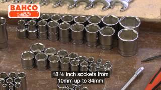 Bahco 138 piece Socket & Spanner Set Video Loop £