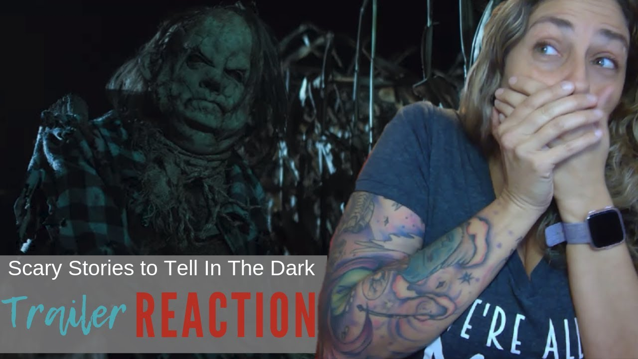 FULL Scary Stories To Tell In The Dark Official Trailer Reaction and Review!
