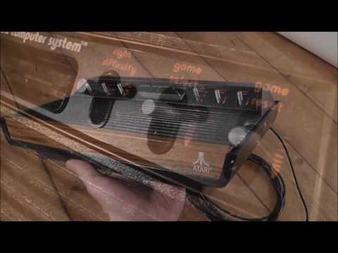 £1 Retro Rufurb - My First Atari - Refurbishing A Classic Light Sixer 2600