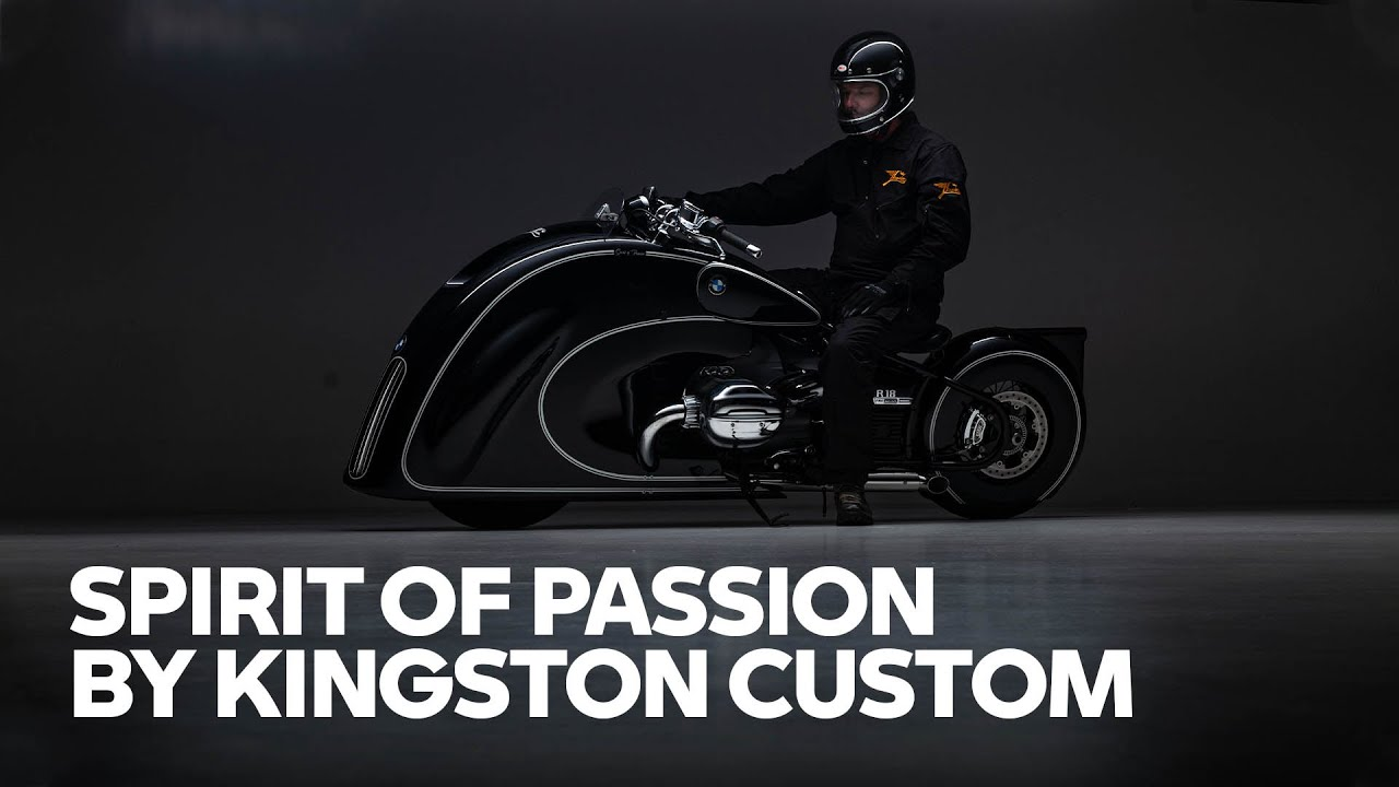 Magnificent BMW R 18 custom build! l Spirit of Passion by Kingston Custom