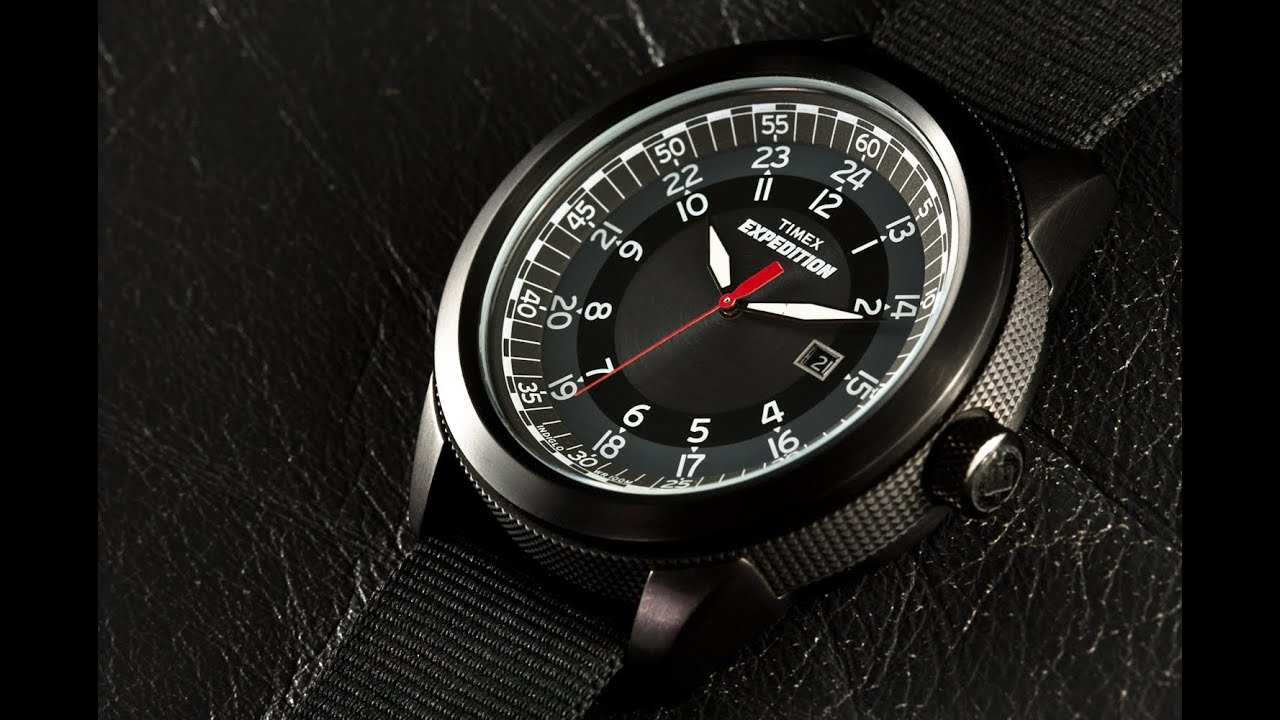 how to put the back on a timex watch
