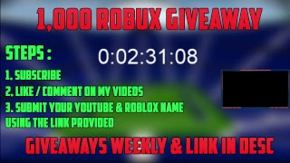 [ENDED] HAPPY NEW YEAR! ROBLOX 1,000 ROBUX GIVEAWAY [READ DESCRIPTION]