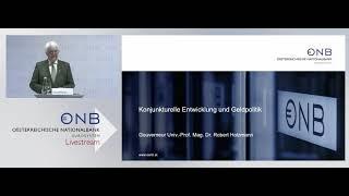 Pressekonferenz Anlässlich Der Präsentation Des Geschäftsberichts 2020 Der OeNB