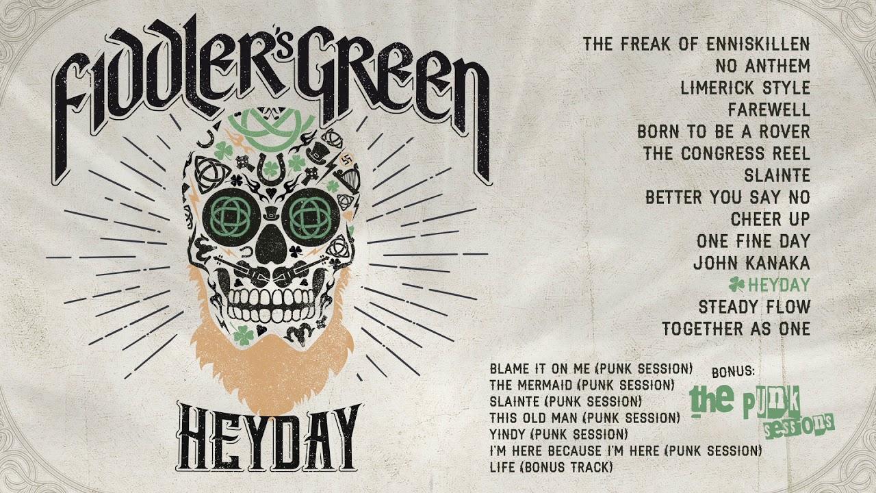 HEYDAY - NEW ALBUM! - Fiddler's Green - HEYDAY Landingpage (en)