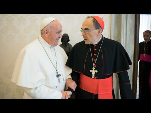 French cardinal convicted of abuse cover-up tenders resignation to pope