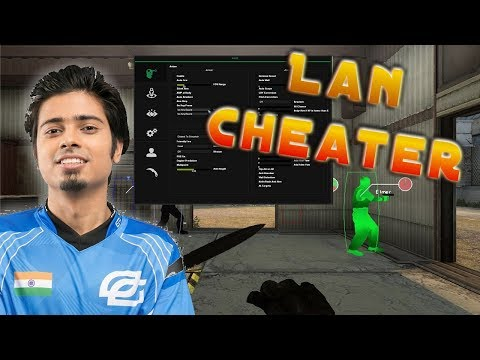 Pro Goes Blatant CHEATER at Lan Tournament Final Game CS:GO