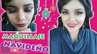 Maquillaje FÁCIL para NAVIDAD | Karla Marisol ♥