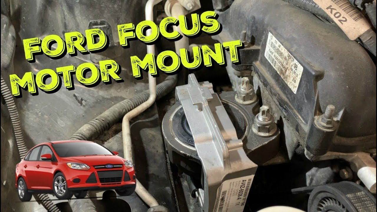Ford Focus Engine Mount Vibration Repair 2012-2017 - YouTubeYouTube