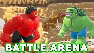 LEGO MARVEL SUPERHEROES 2 - HULK Battle Arena!