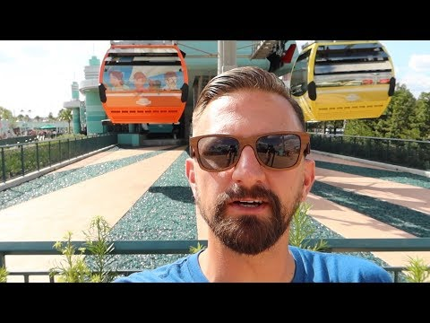 Disney Skyliner Gondolas Are Back Open & An EPCOT Construction Update!