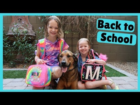 The Kid's Go Back to School ~ END OF SUMMER !