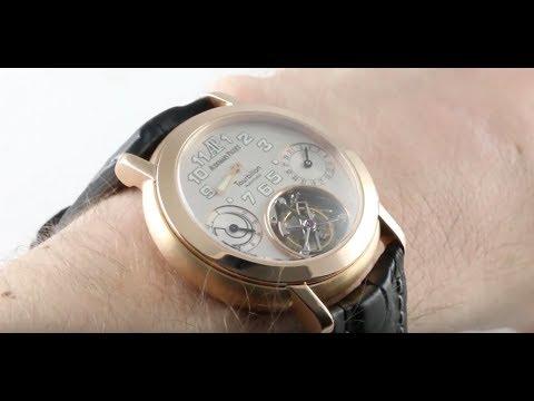 Audemars Piguet Jules Audemars Tourbillon 150th Anniversary25964OR.OO.01 Luxury Watch Review