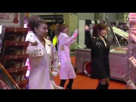 大阪オートメッセ 2015 ダンス 「ブラを探して・・・ - 爆乳ヤンキー」